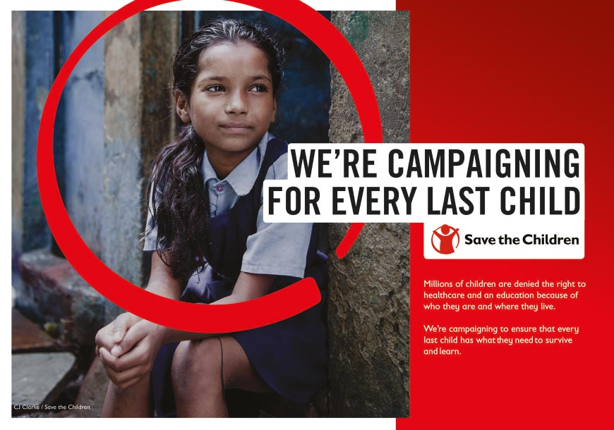 We're campaigning to ensure that every last child has what they need to <span>survive and learn</span>.