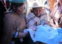 Working Hand-in-hand to save lives in Bolivia