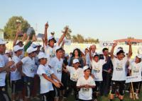 Children race for a healthy society in Tajikistan
