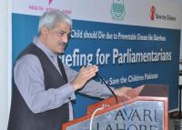 Pakistan briefs media and provincial leaders on child survival