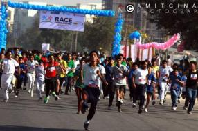 6500 children participate in Race for Survival in India