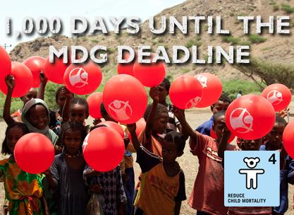 1,000 Days until the Millenmium Development Goals Deadline
